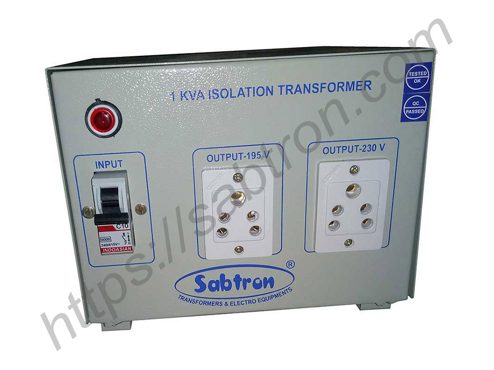 ISOLATION-TRANSFORMER-BOX-TYPE-1-KVA