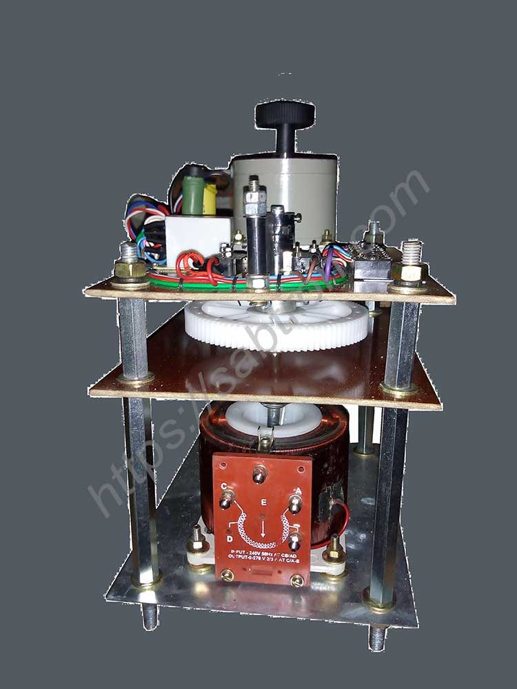 VARIABLE-TRANSFORMER-MOTORIZED